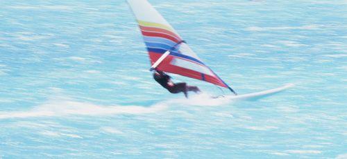 Wind surfing Print